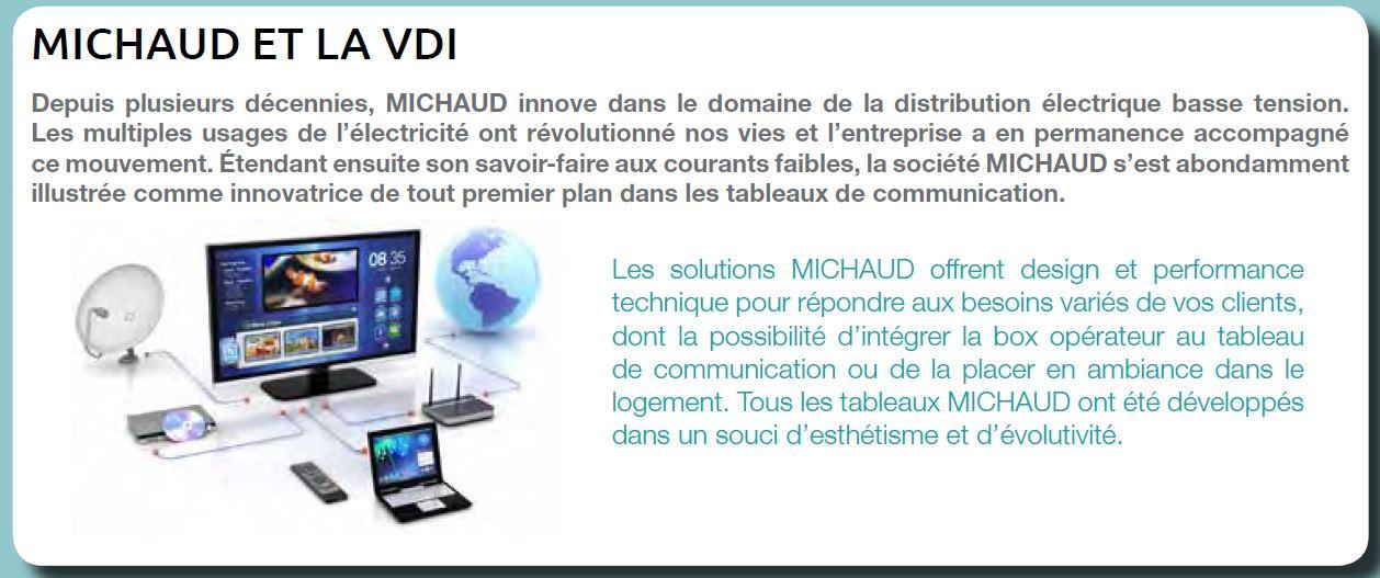 Michaud l'expert des tableaux de communication VDI