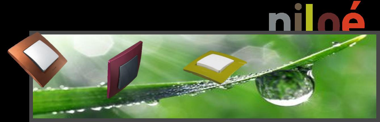 plaques niloé legrand couleurs