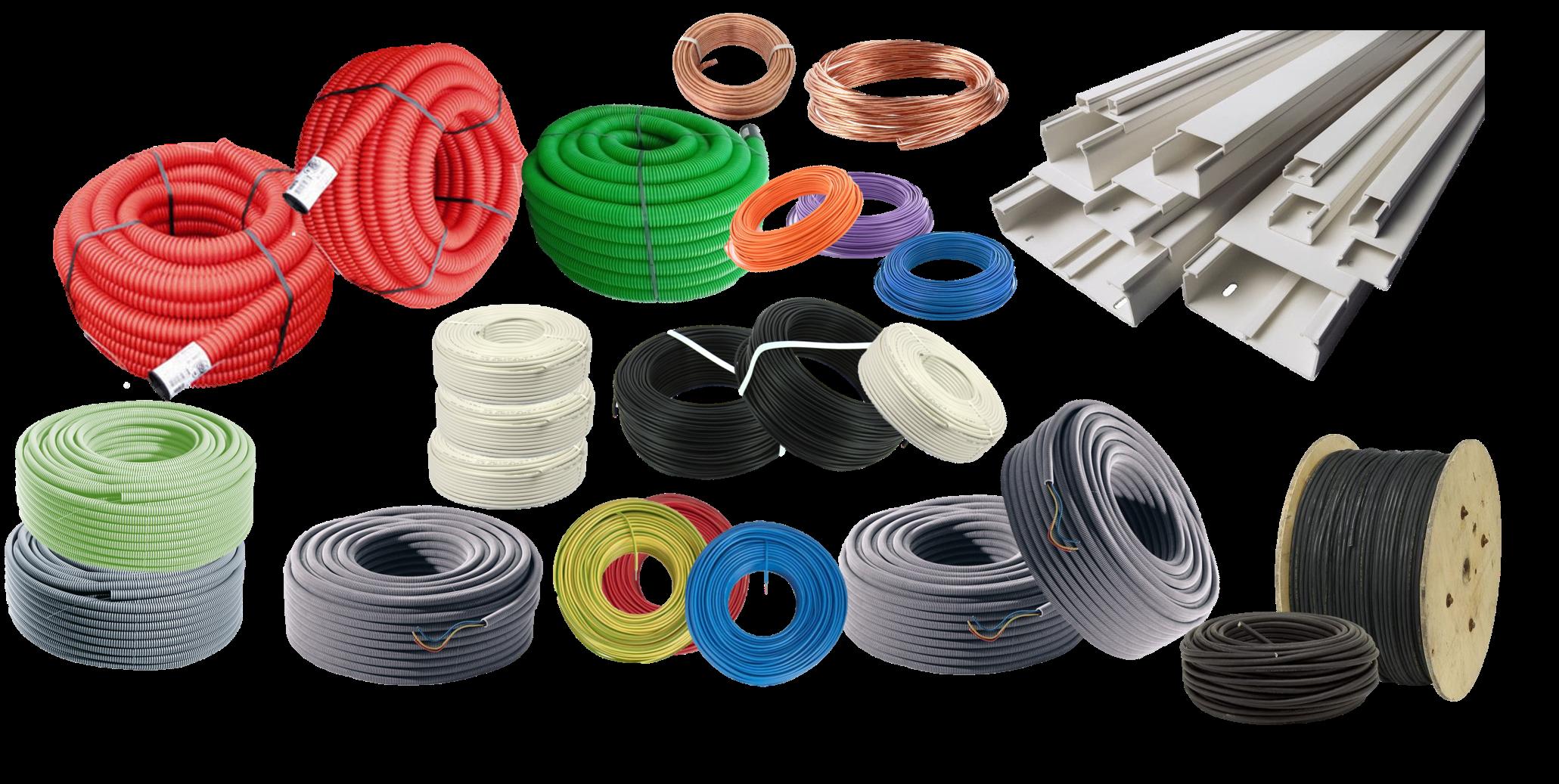 cables, goulottes, gaines en vente sur reielec.com