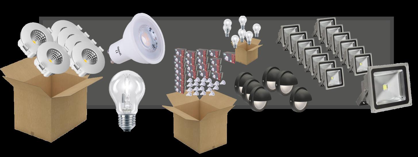 Pack pro, à prix réduit luminaires led
