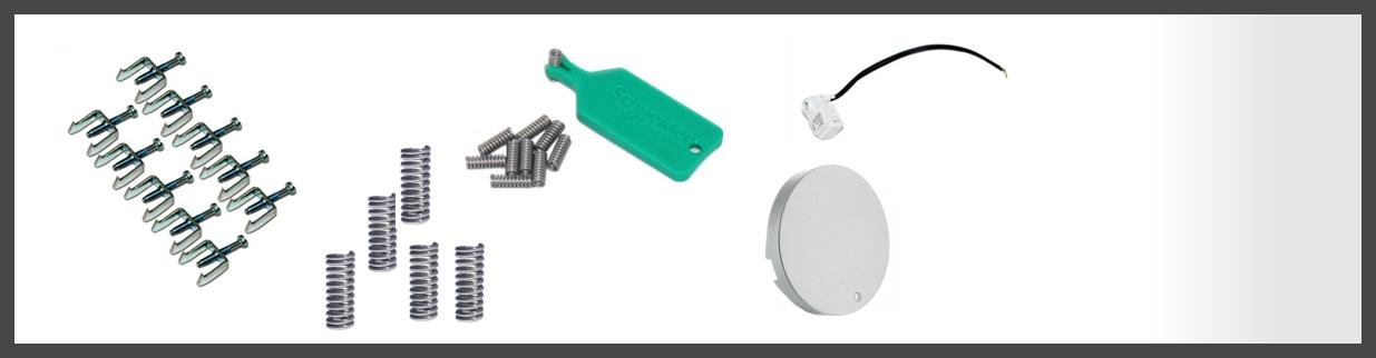 Tout les accessoires pour transformer le mécanisme de votre appareillage odace