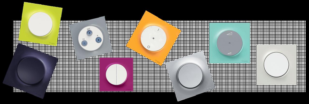 Plaques Odace Styl couleurs, des dizaines de couleurs qui s'accorderont avec votre intérieur